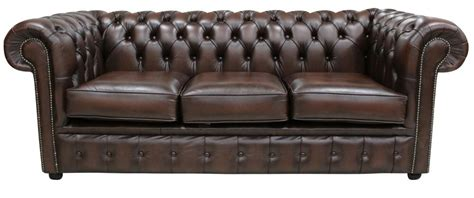 chesterfield settees uk brand new chesterfield 3 seater sofa settee antique