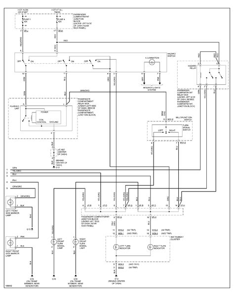 i need a diagram of the wiring harness from the light switch to the lights