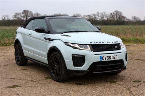 Review Land Rover Range Rover Evoque by Land Rover Range Rover Evoque Convertible Review Parkers