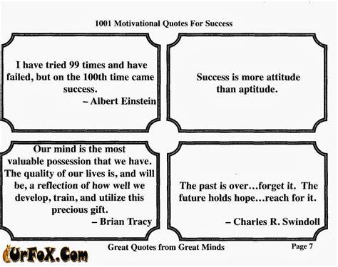 1001 Motivational Quotes Success Pdf