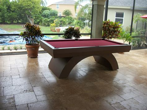 table pool tables contemporary outdoor arcobaleno