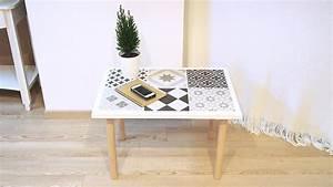 diy table decoree de carreaux de ciment le meilleur du diy With faire des carreaux de ciment