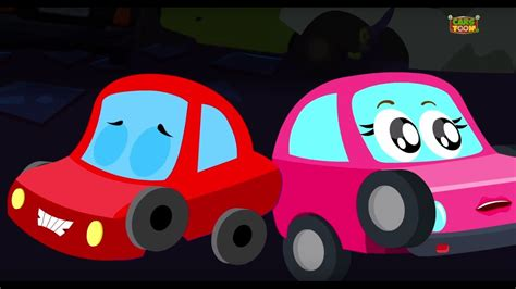 red car halloween rhymes prepare  fright
