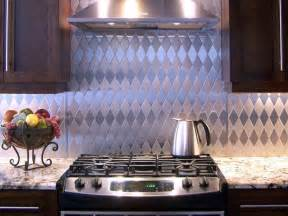 kitchen stainless steel backsplash stainless steel backsplashes hgtv