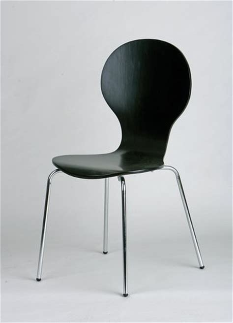 chaise noir et bois chaise de cuisine lot de 4 en métal et bois coloris noir