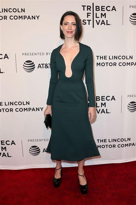 Rebecca Hall At Permission Premiere At 2017 Tribeca Film