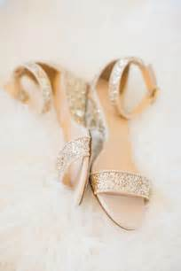 gold shoes wedding wedding nail designs sparkly gold bridal flats 2030658 weddbook