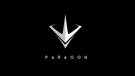 wallpaper paragon logo moba  games pc ps games