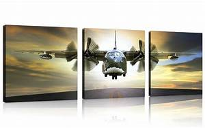NAN Wind Vintage Airplane Wall Art Aircraft Pictures