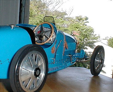Exquisite 1927 bugatti replica type35b assembled in 1976 with a 1956 donorvolkswagon chassis and engine.purchased in 1998 with odometer reading of 3908. Bugatti Type 35 T35 1:8 scale metal model kit by J P