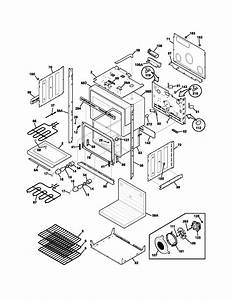 Lower Oven Diagram  U0026 Parts List For Model Pleb30t9dca