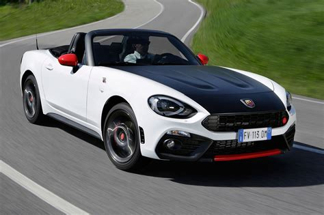 The Spider Car by Abarth 124 Spider 2018 Review Gt Version Driven Car