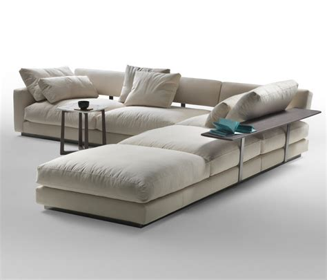 Flexform Sectional Sofa by Pleasure By Flexform Divano Componible Bracciolo Alto