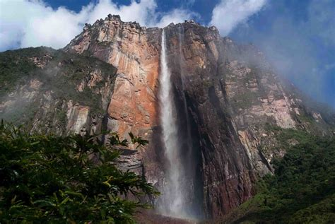 Worlds Largest Angel Falls Salto Angel Venezuela