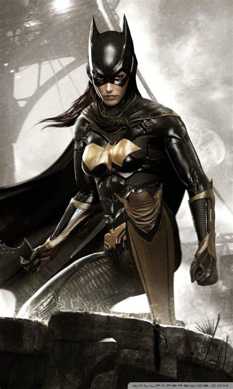 batman arkham knight batgirl  hd desktop wallpaper