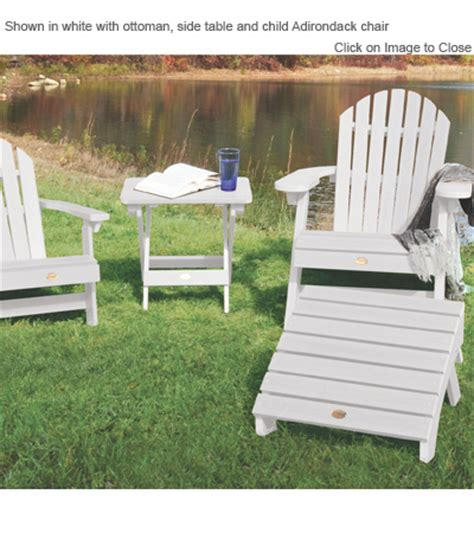 Highwood Folding Adirondack Chair by Outdoor Poly Furniture Highwood Furniture Folding