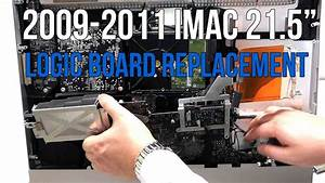 Imac Logic Board Replacement 2009 2010 2011 21 5 U0026quot  Apple