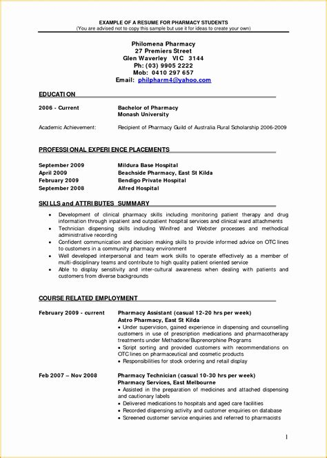 7 retail pharmacist resume sle free sles