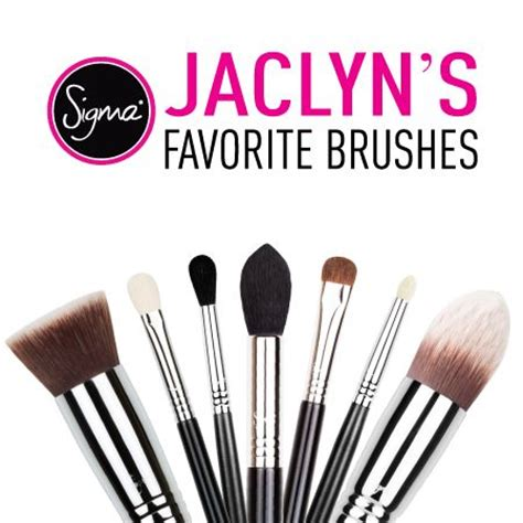 favoritemust  sigma brushes jaclyn hill
