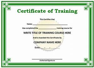 Free printable certificates templates word sample for Free downloadable certificate templates in word