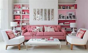 10, Blissful, Interior, Design, Ideas, For, A, Pink, Living, Room