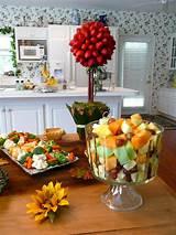 Fall Bridal Shower Food Table wedding stuff Pinterest