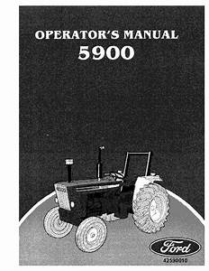 New Holland Ford 5900 Tractor Operator Manuals Pdf