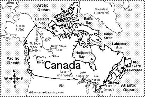 grade  blank map  canada