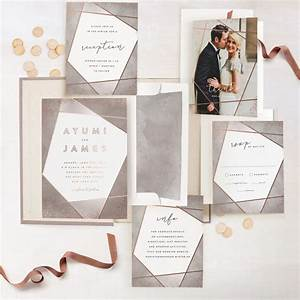 now you can foil all the things your wedding invites with With places to print your wedding invitations