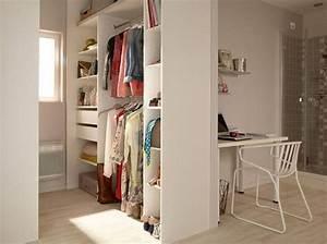 Dressing Petit Espace : 15 id es de dressings pour un petit appartement elle d coration ~ Teatrodelosmanantiales.com Idées de Décoration