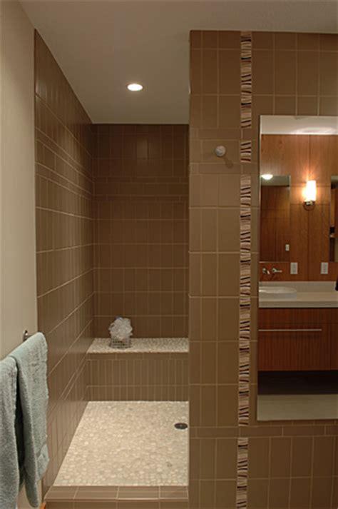 suburban bathroom remodel creates  spa  retreat