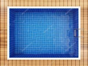Swimming Pool Top View — Stock Photo © ras-slava #17691425