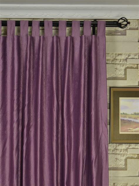 Wide Curtains by Wide Swan Europe Floral Tab Top Curtains 100 120