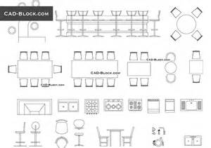 bar furniture cad blocks