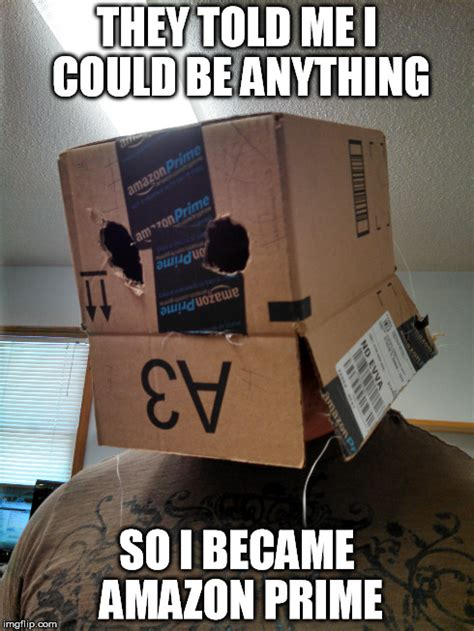 Amazon Memes - image tagged in transformers robot box imgflip