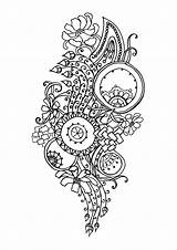 Coloring Pages Adults Flower Stress Zen Anti Printable Flowers Adult Pattern Complex Bestcoloringpagesforkids sketch template