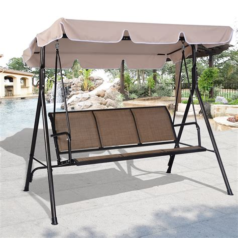 canapé swing mainstays 2 person padded swing floral walmart com