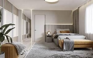 Furniture, Cabinet, Modern, Bedroom, 3d