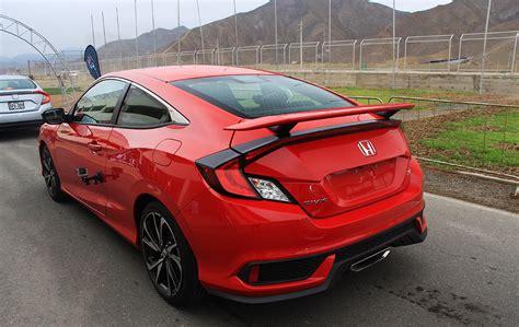 Honda Civic Si 2018 by Honda Civic Si 2018 Ahora Con Motor Turbocargado Lista