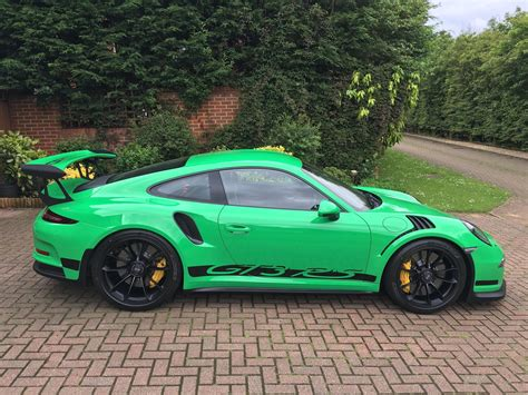 Porsche Gt3 Rs Green 2016 rs green porsche 911 gt3 rs for sale at 321 000 in