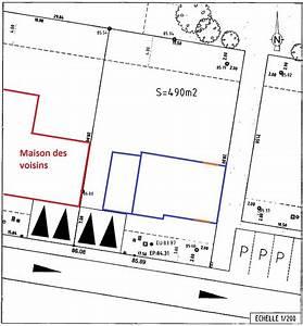 avis implantation maison sur terrain de 490m2 7 messages With plan maison avec cote 12 plan daccas et contact