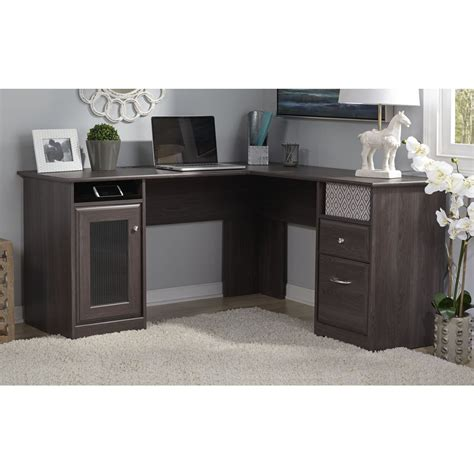 Bush Cabot L Shaped Desk by Bush Cabot L Shaped Desk Desks At Hayneedle
