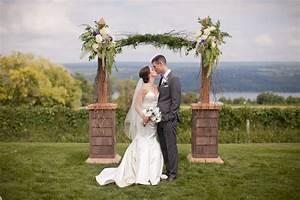 glenora wine cellars weddings wedding testimonial With where to go for honeymoon in september