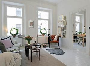 Modern swedish living room interior design cool for Swedish living room design