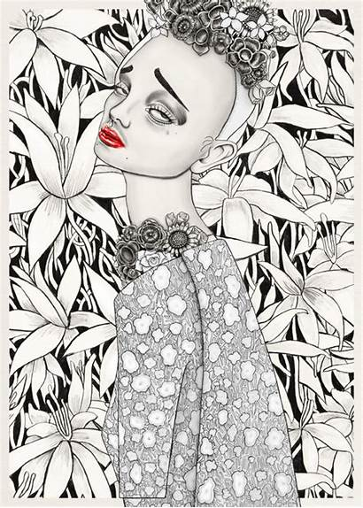 Tara Dougans Gifs Illustrations Surreal Ilustradora Itfashion
