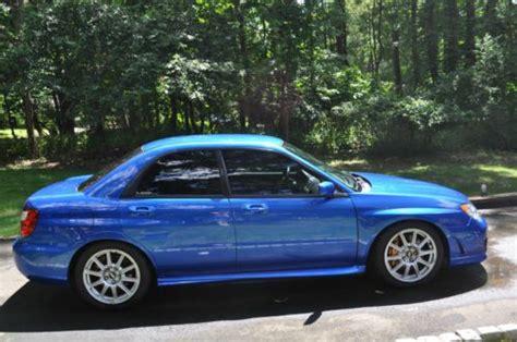 Rally Blue Wrx by Purchase Used 2006 Subaru Impreza Wrx Sti World Rally Blue
