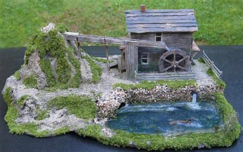 sold structures ho scale buildings model trains stone