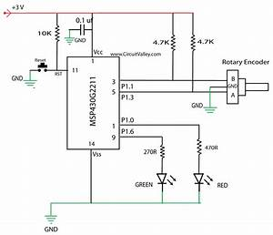 Embedded Engineering   Rotary Encoder Interfacing With