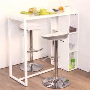 table haute avec tabouret pour cuisine cuisine en image