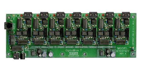 mhubx  port rs repeater hub  rs port